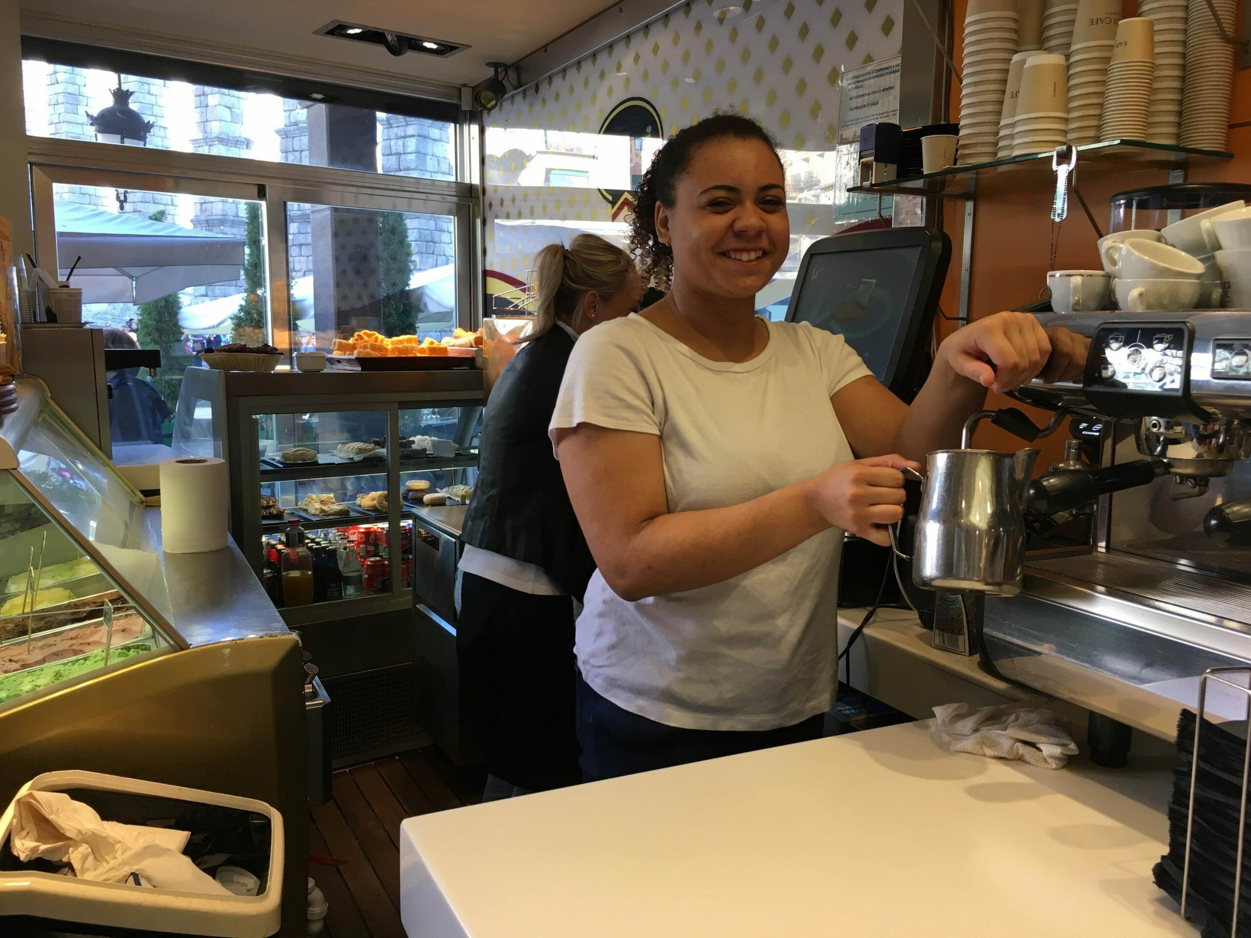 Cafe Work Experience Abroad Placement