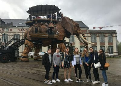 Nantes Work Experience Abroad Excursion