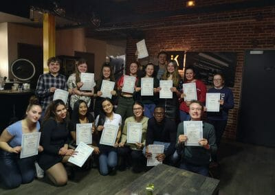 Work Experience Abroad Certificate Evening