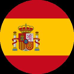 Spain Circle Flag