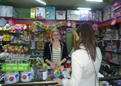 Retail Work Experience Abroad Placement Toy Shop
