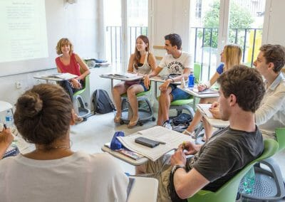 Valencia Spanish Language School Classroom, Spain