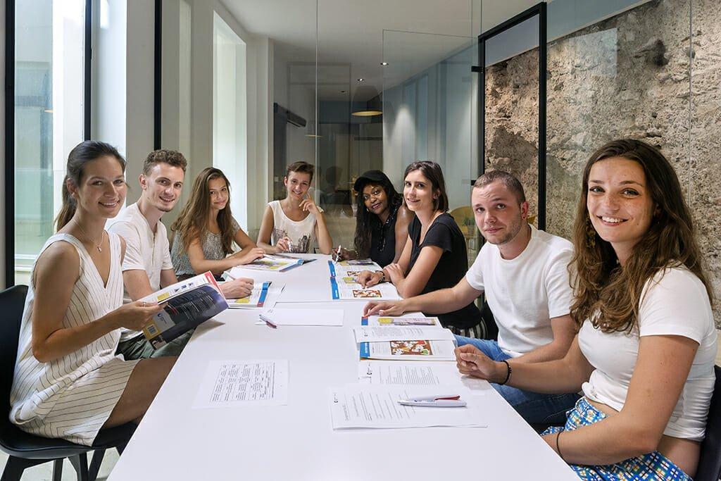 Valencia Spanish Language School Classroom Spain
