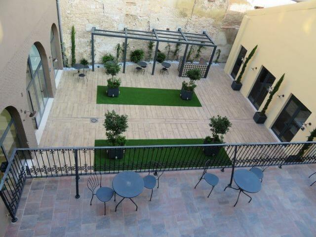 Valencia Spanish Language School Courtyard, Spain
