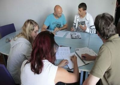 Biarritz French Summer Camp Classroom