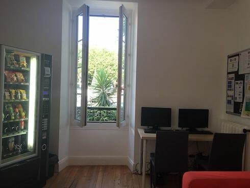 Biarritz French Language School Communal Area, France