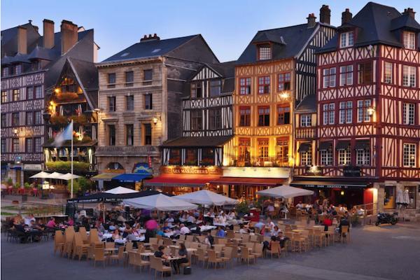 Rouen City by Night