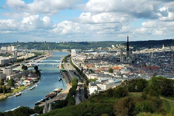 River Seine in Rouen