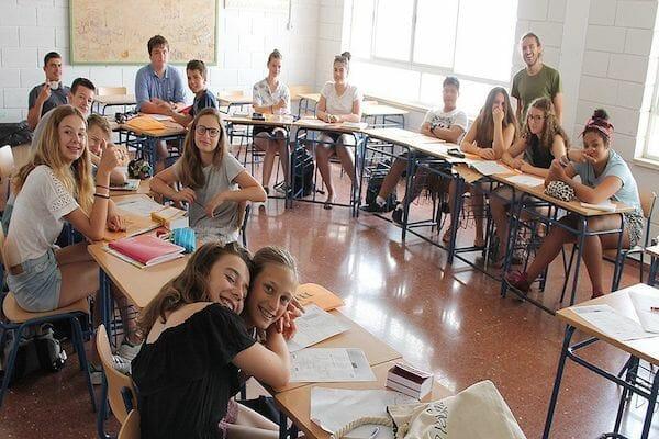 Benalmadena Spanish Language School Summer Camp Classroom