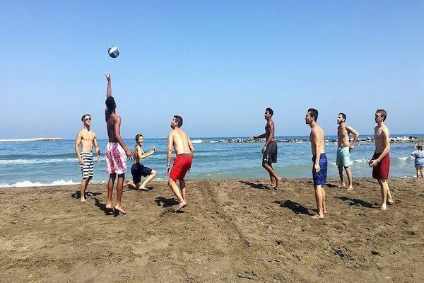 Benalmadena Spanish Language School Summer Camp Beach Volleyball