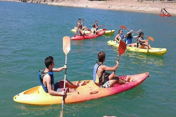 Benalmadena Spanish Language School Summer Camp Water Sports
