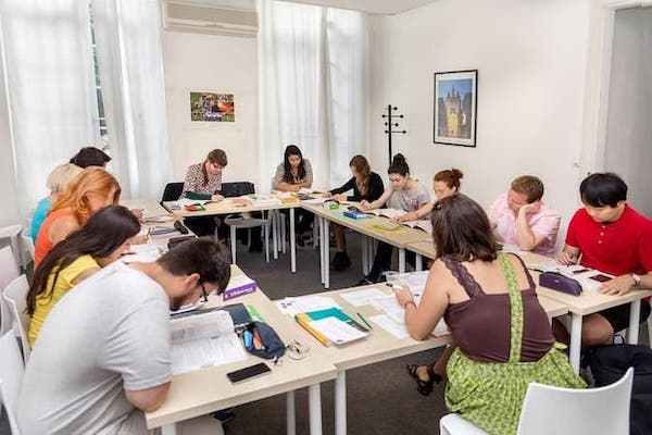 Bordeaux French Language School Classroom, France