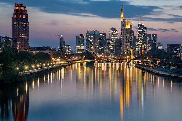 Frankfurt City by Night