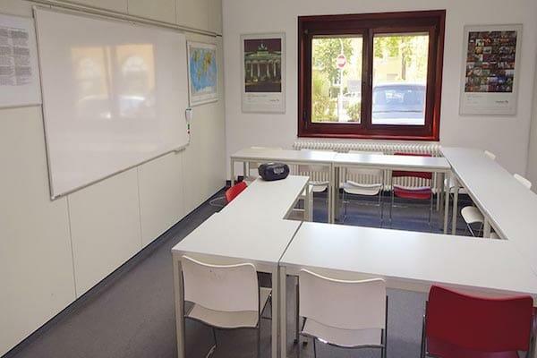 Frankfurt German Language School Classroom, Germany