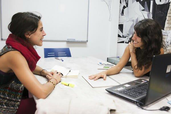 1:1 lesson at Granada Spanish Language School, Spain
