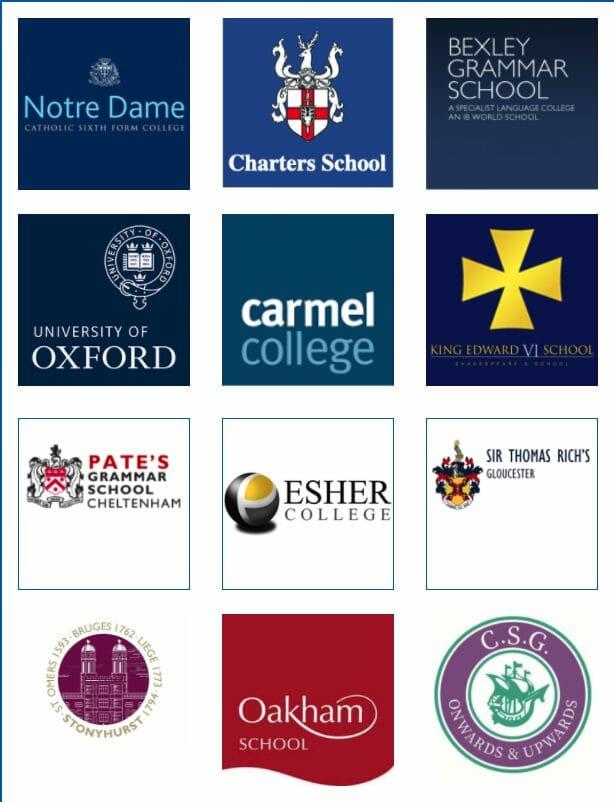UK School Logos