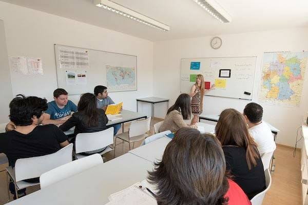 Munich German Language School Classroom, Germany