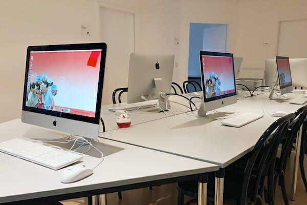Munich German Language School IT Room, Germany