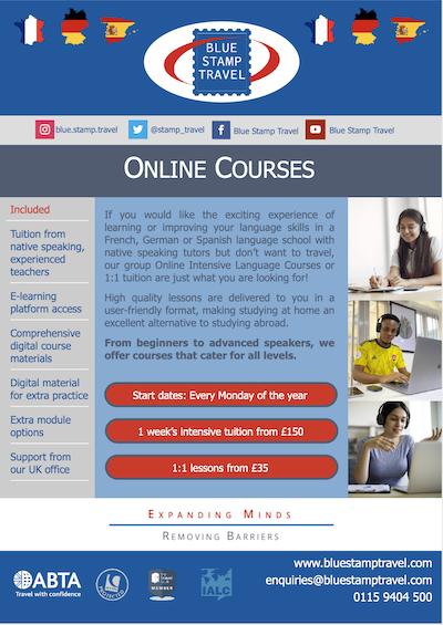 Online language courses
