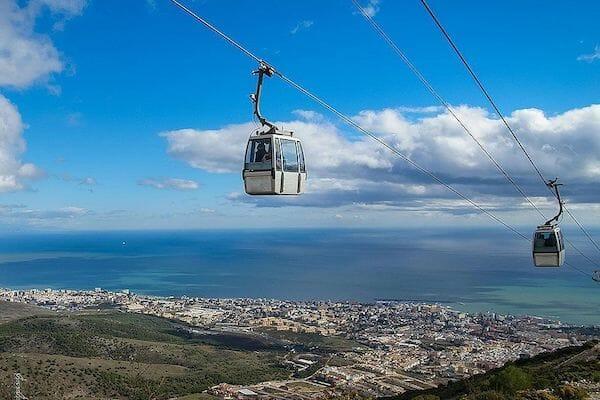 Benalmadena Cable Car Spain