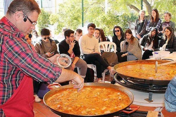 Benalmadena Spanish Language School Summer Camp Paella
