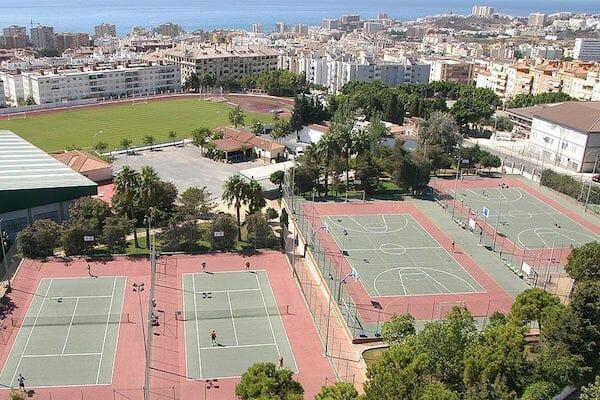Benalmadena Spanish Language School Tennis Courts
