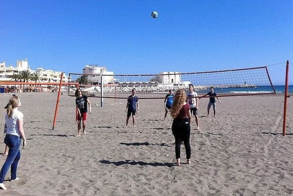 Benalmadena Spanish Language School Summer Camp Volleyball