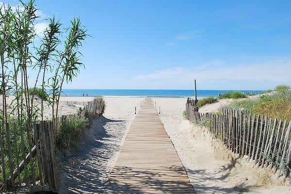 Montpellier Beach France