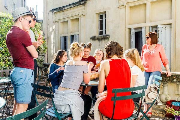 Montpellier French Language SchoolCourtyard France