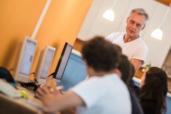 Lindau German Language School IT Classroom Germany