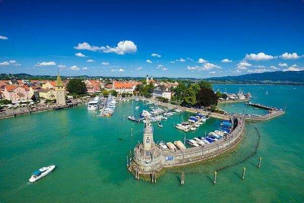 Lindau Port Germany