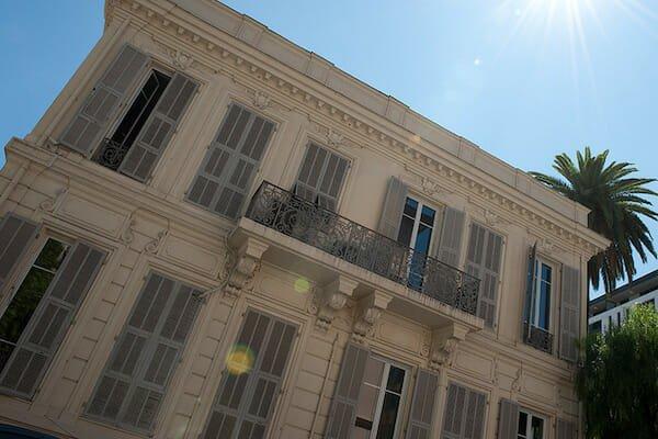 Nice Language School Building France