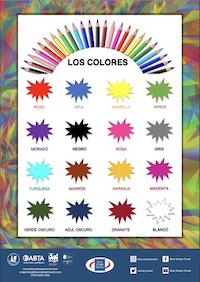 Colours - Spanish