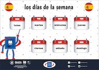 Days of The Week - Spanish