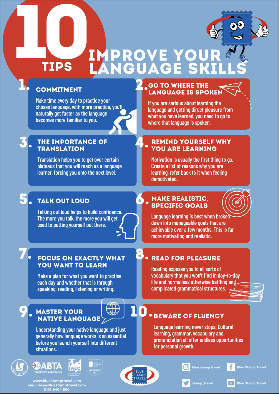 10 Tips to Improve Your Language Skills