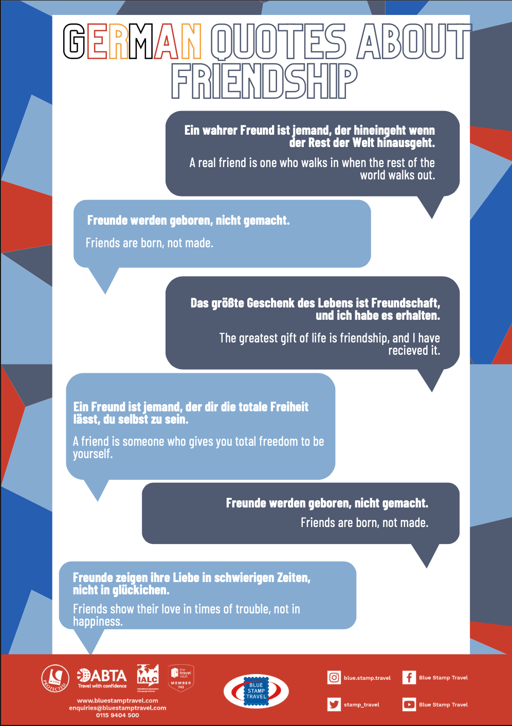 French Friendship Quotes