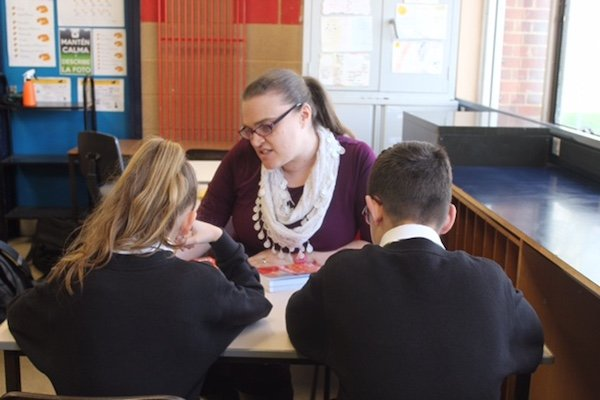 Natalie Campbell Teaching Spanish