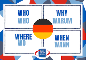 Who Why Where When Poster German