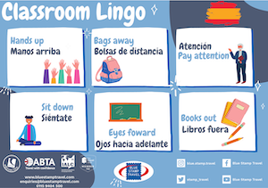 Spanish Classroom Instructions