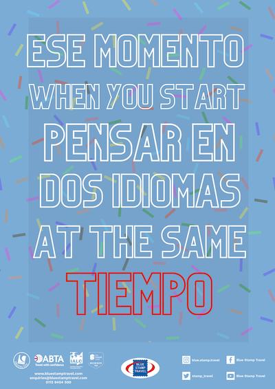 Dos Idiomas Poster