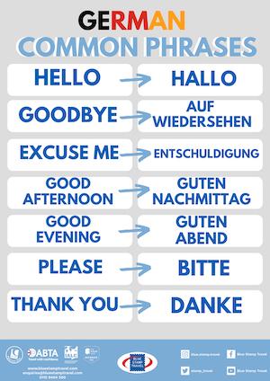 Common German Phrases