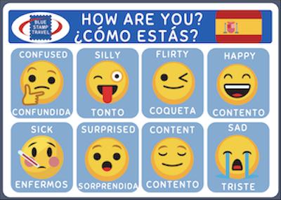 Spainsh Emoji Poster