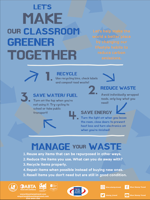 Make Your Class Greener Poster