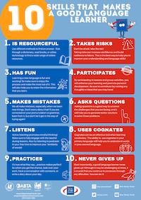 10 Skills that make a good language learner