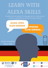 Alexa German Skill Poster