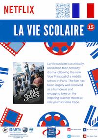 La Vie Scolaire Poster