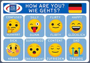 Germany Emoji Poster